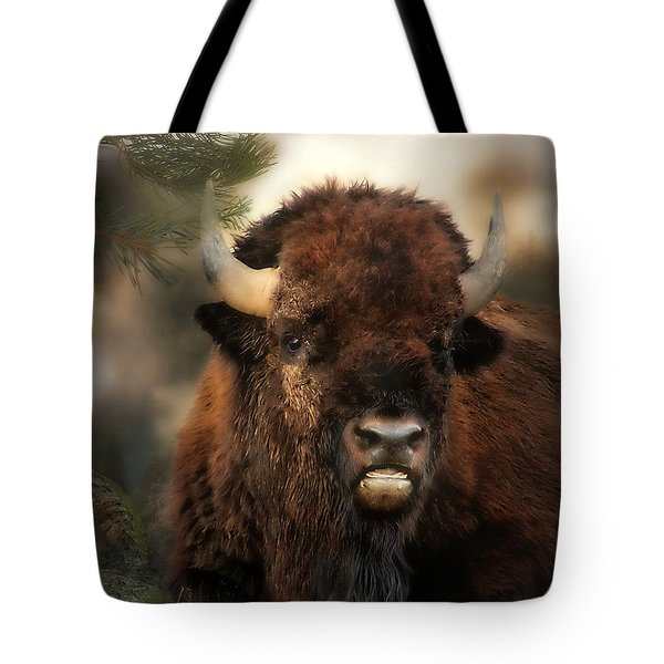 Wild Buffalo Tote Bag