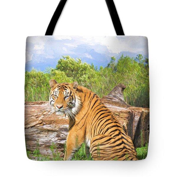 Wild Kingdom Tote Bag by Judy Kay
