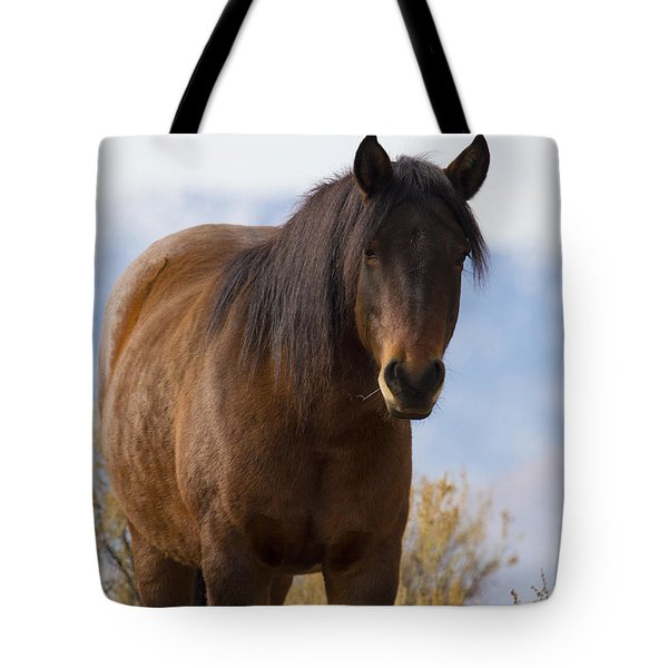 Wild Mustang Horse Tote Bag