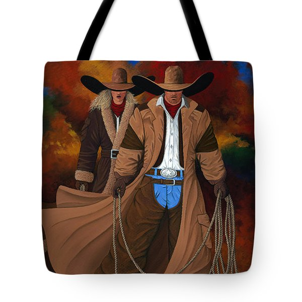 Wild West Days Poster/print  Tote Bag