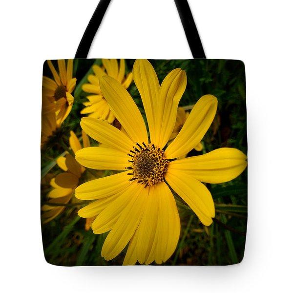 Wild Yellow Tote Bag