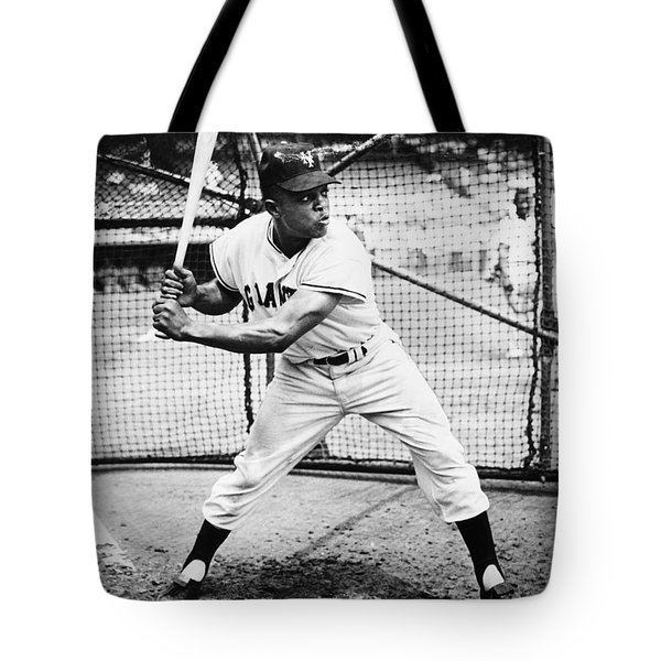 Willie Mays (1931- ) Tote Bag by Granger