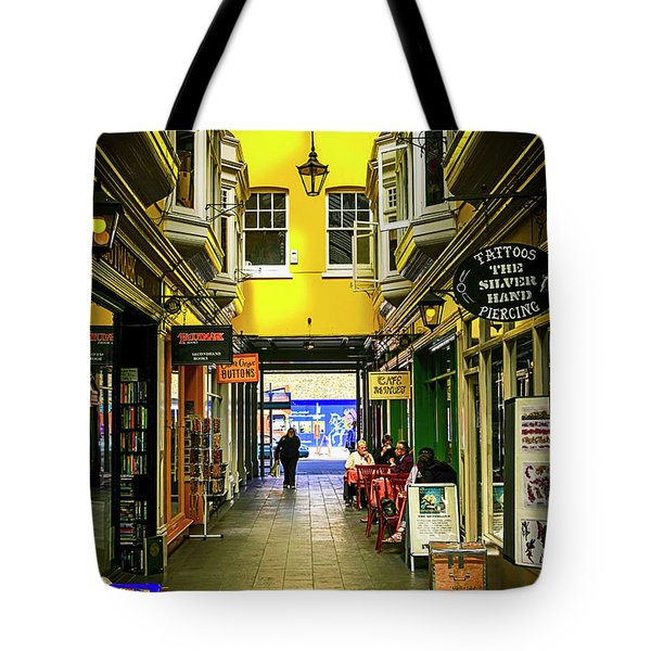 Windham Shopping Arcade Cardiff Tote Bag