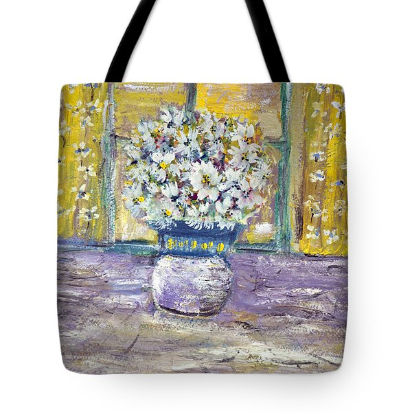 Windowpane Tote Bag by Don  Wright