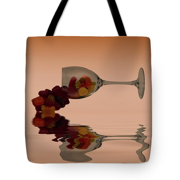 Tote Bag featuring the photograph Wine Gums Sweets by David French