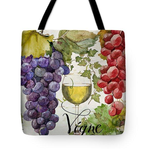 Wines Of Paris II Tote Bag