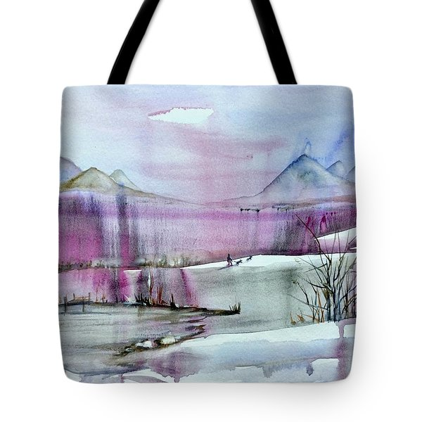 Winter Afternoon Tote Bag