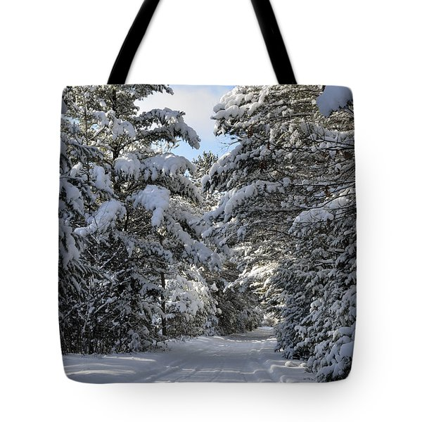 Winter Escape Tote Bag