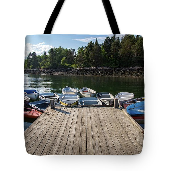 Winter Harbor Maine  Tote Bag