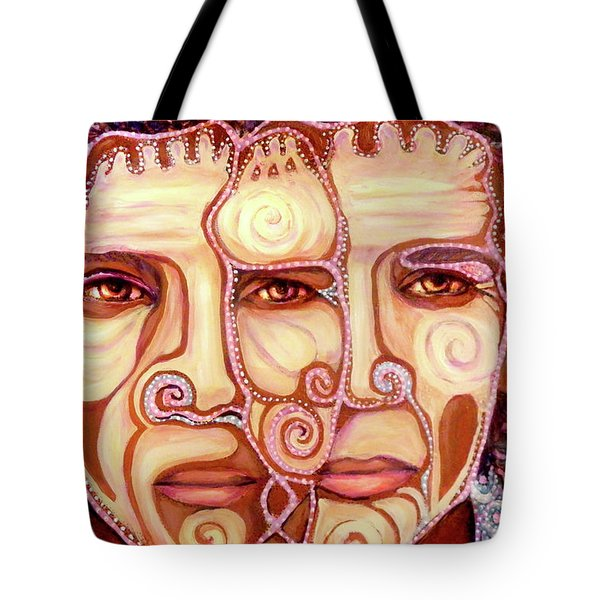 Two Heads Are Better Than One Tote Bag