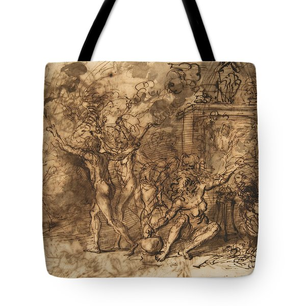 Witches' Sabbath Tote Bag