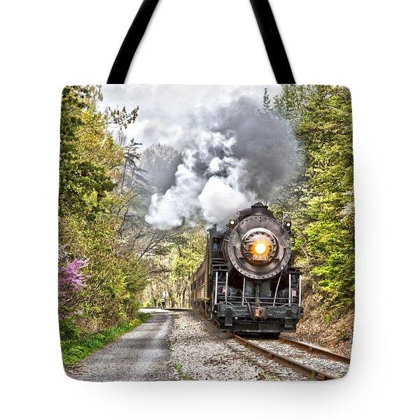 Wmsr Steam Engine 734  Tote Bag