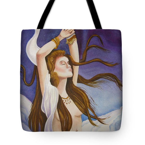 Woman Unleashed Tote Bag