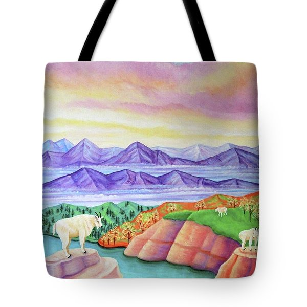 Wonderland Tote Bag by Tracy Dennison