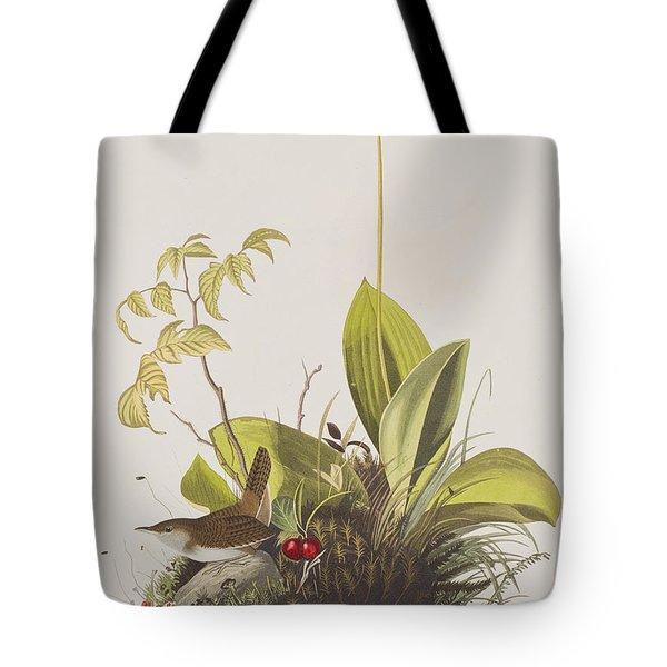 Wood Wren Tote Bag