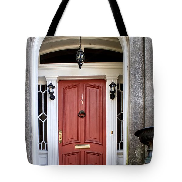 Wooden Door Savannah Tote Bag by Thomas Marchessault