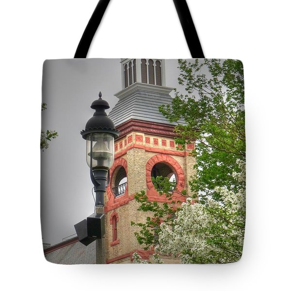 Woodstock Opera House Tote Bag by David Bearden