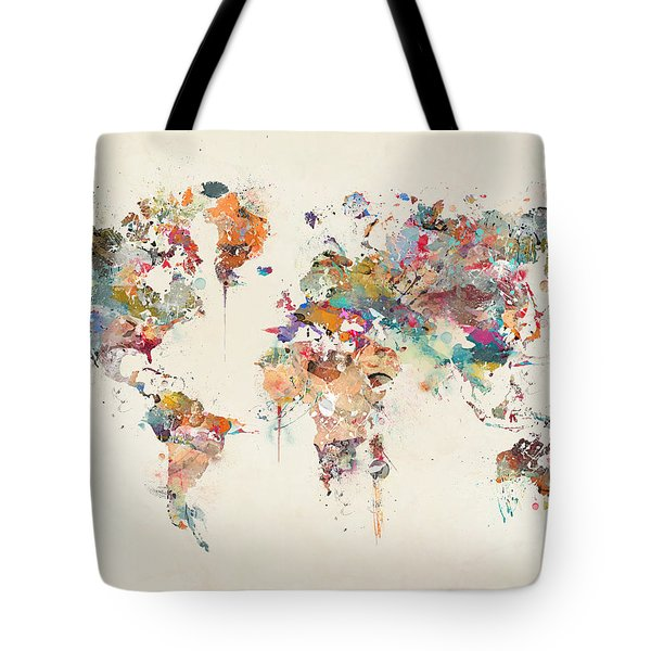 6d6e19f2d7a Map Of The World Tote Bags (Page  3 of 45)   Fine Art America