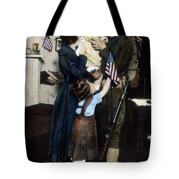 World War I: Deployment Tote Bag by Granger