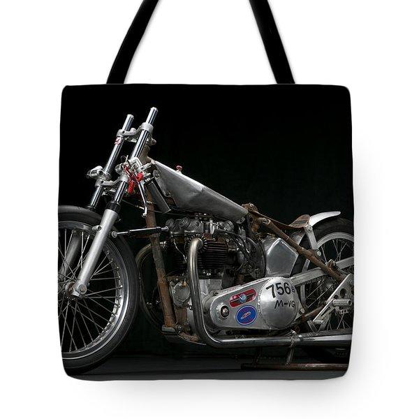 World's Fastest Vintage Triumph Tote Bag