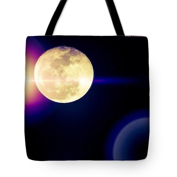 Wouldn't It Be Great If The #moon And Tote Bag