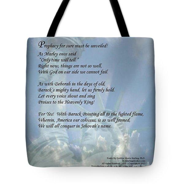 Writer, Artist, Phd. Tote Bag by Dothlyn Morris Sterling