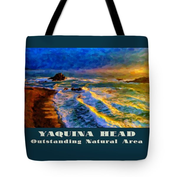 Yaquina Head Outstanding Natural Area Tote Bag