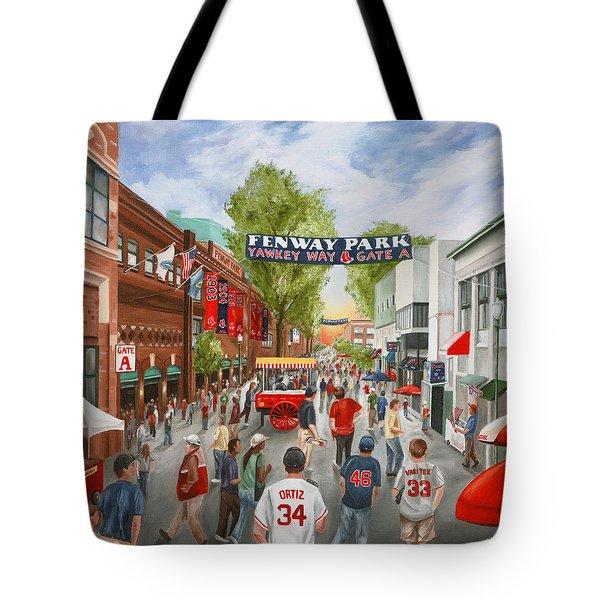 Yawkey Way Tote Bag by Christine Da Silva