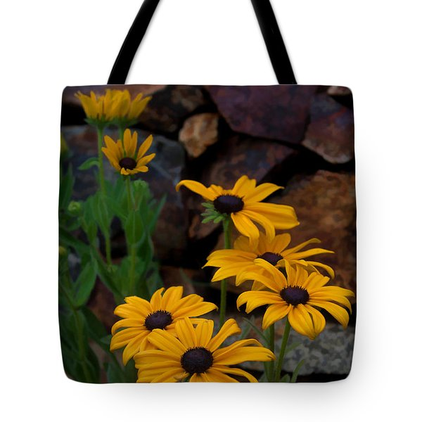 Yellow Beauty Tote Bag by Cherie Duran