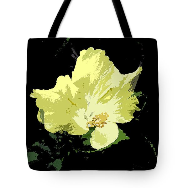 Yellow Beauty Tote Bag by Karen Nicholson