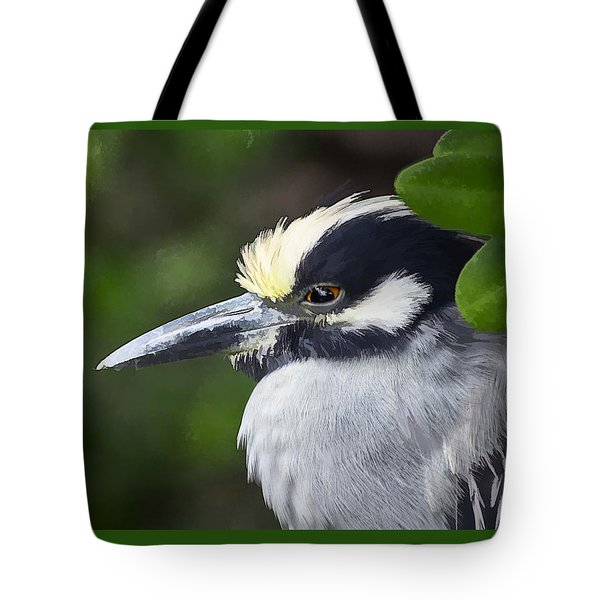 Yellow-crowned Night Heron Tote Bag
