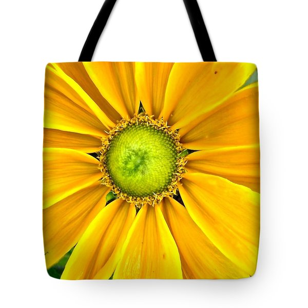 Yellow Daisy Tote Bag by Stephanie Moore