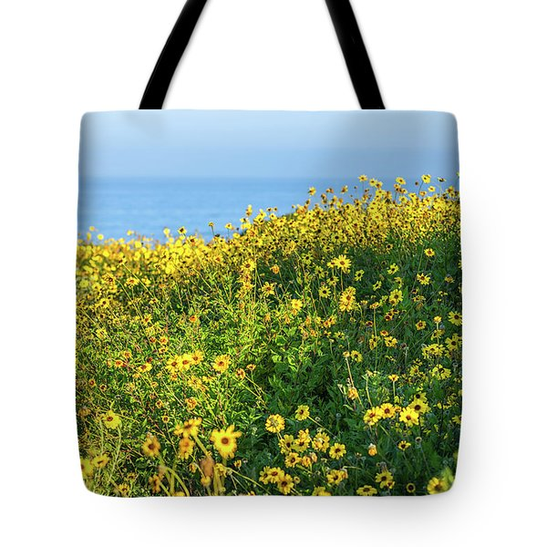 Yellow Is The Color Tote Bag
