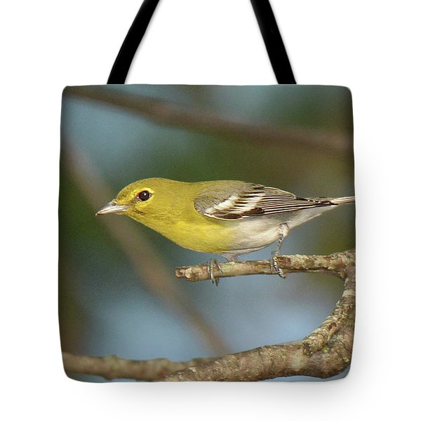Yellow-throated Vireo Tote Bag