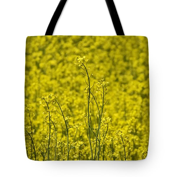 Tote Bag featuring the photograph Yellow by Wanda Krack