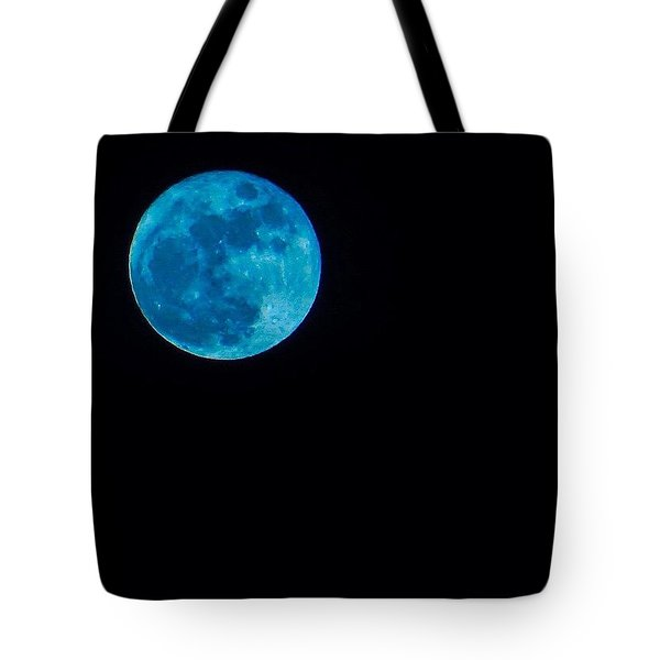 Yes, Once In A #bluemoon! Tote Bag