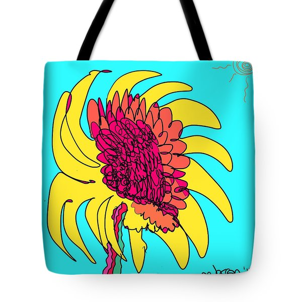 Yes. This Is A Flower, Child Tote Bag