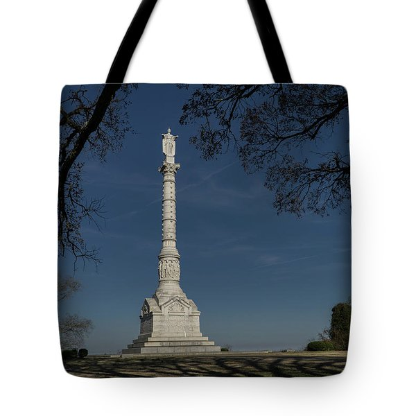 Yorktown Victory Monument Tote Bag