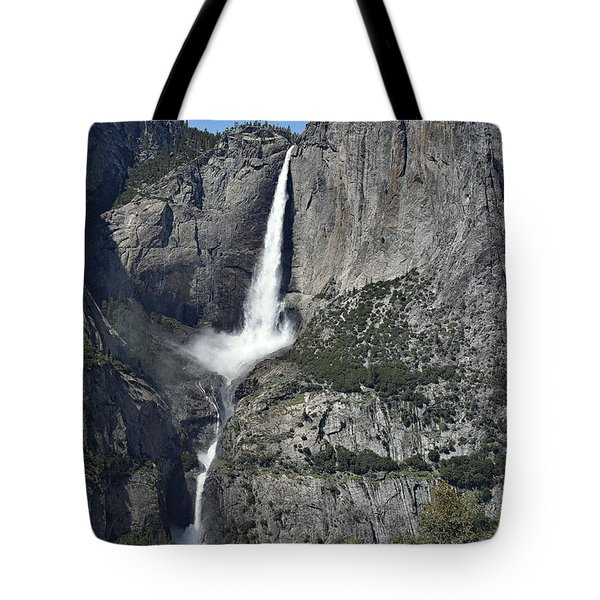Yosemite Falls From The Four Mile Trail Tote Bag