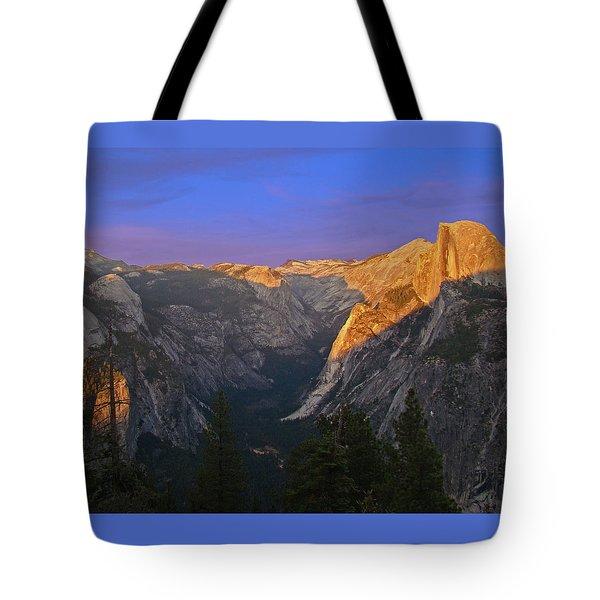 Yosemite Summer Sunset 2012 Tote Bag