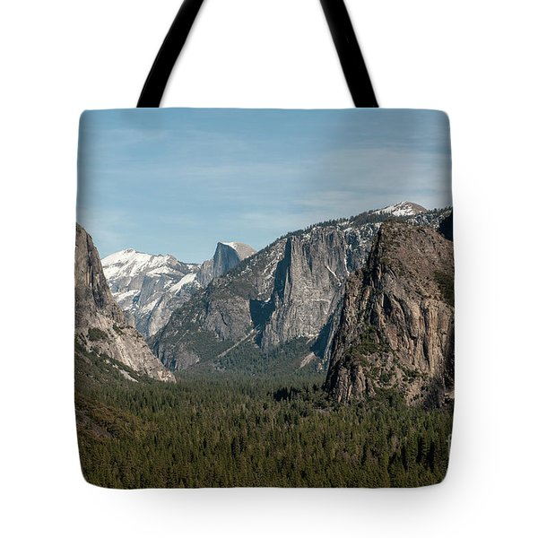Tote Bag featuring the photograph Yosemite Valley Afternoon by Sandra Bronstein