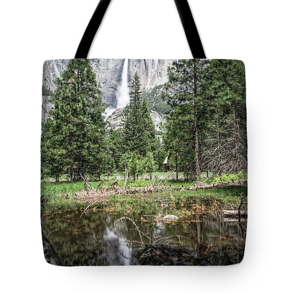 Yosemite View 16 Tote Bag