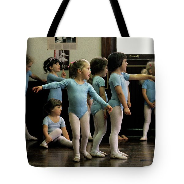 Young Ballet Dancers  Tote Bag