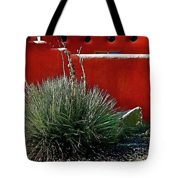 Yucca And Adobe Tote Bag