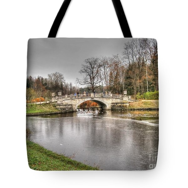 Yury Bashkin Near Peterburg Tote Bag by Yury Bashkin