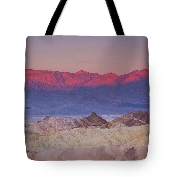 Zabriskie Sunrise Tote Bag