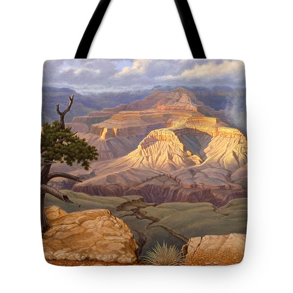 Zoroaster Temple From Yaki Point Tote Bag
