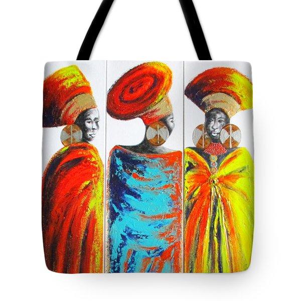 Zulu Ladies 2 Tote Bag