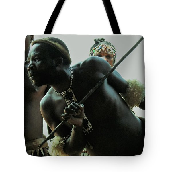 Zulu Warrior Tote Bag