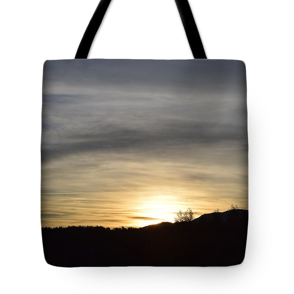Sunrise Back Country Co Tote Bag